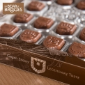 Chocolats The Bear of Bruges - Chocolats avec un fourrage praliné (44% de noisettes)